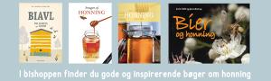 I Bishoppen finder du gode og inspirerende bøger om honning